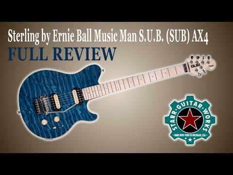 Review Sterling by Ernie Ball Music Man S.U.B. (SUB) AX4
