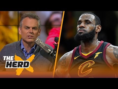 Colin Cowherd on the Cavaliers sweeping the Raptors, Philly's Game 4 win  NBA  THE HERD
