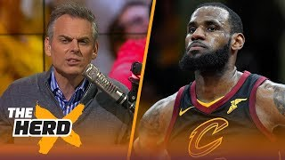 Colin Cowherd on the Cavaliers sweeping the Raptors, Philly's Game 4 win | NBA | THE HERD