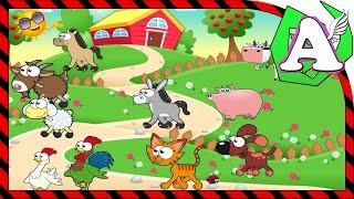 Обучающий мультик как говорят животные для детей малышей все серии подряд