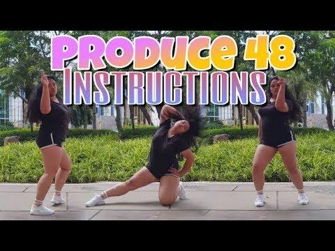 FAT GIRL DANCES TO Produce 48 Jax Jones  Instructions DANCE  PH