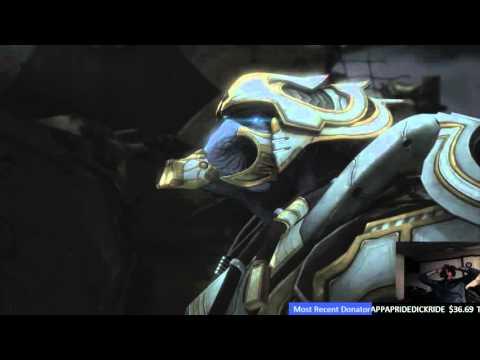 Live Reaction to Zeratul vs Artanis-Zaratul Death Scene in Starcraft 2 LotV