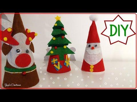 Manualidades Faciles De Navidad Tambien Para Ninos Yuyi S Creations Youtube