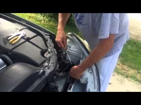 2006 lexus gs300 headlight assembly removal