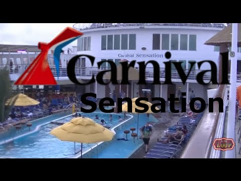 Carnival Sensation Tour & Review with The Legend
