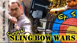 Best Survival Slingshot - Revealed - Ep. 5 - Lethal Hunting / Edc / Bug Out Bag /  Archery Sling Bow