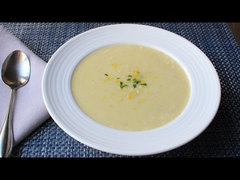 Avgolemeno Soup Recipe - How to Make Greek Lemon Chicken Rice Soup