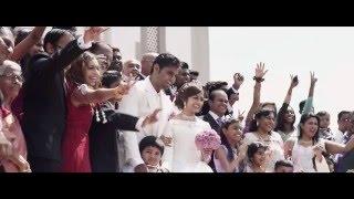 Vicnes & Jascintha | Malaysia Church Wedding Cinematography Video Highlight
