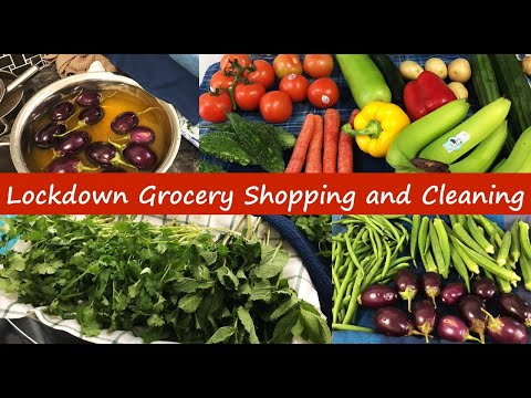 Lockdown grocery shopping and cleaning hacks