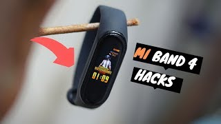 Mi band 4 Tips and Tricks | 8 Things to do🔥🔥