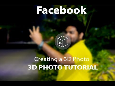 How To Make Facebook 3D Image In Photoshop CC2014 By ICT CARE! Facebook 3D Image! Photoshop 3D Image