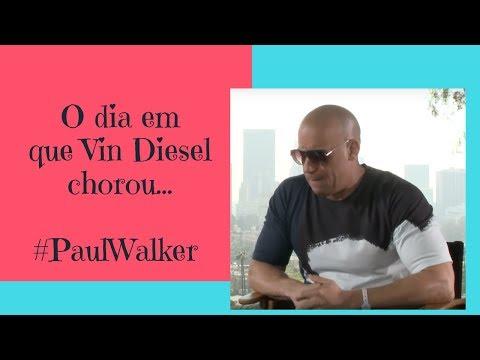 Vin Diesel se emociona ao lembrar do amigo Paul Walker - SBT Brasil
