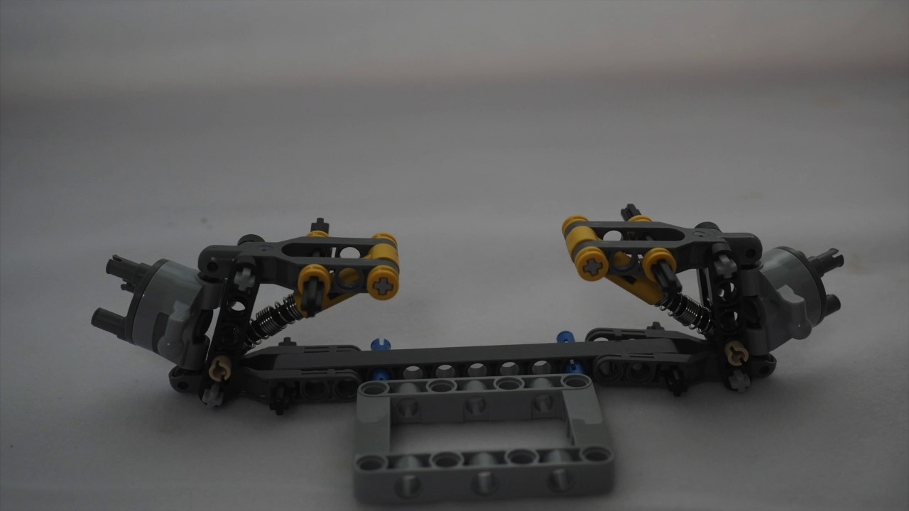Lego Technic Steering Systembuilding Instructions Youtube