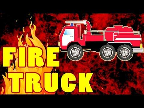 Fire Truck    Cartoons for children