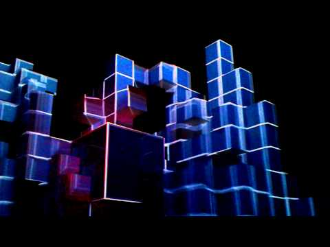 Amon Tobin - ISAM Live @Roundhouse 17th June 2011 Video 8 - amazing 3D cube visuals