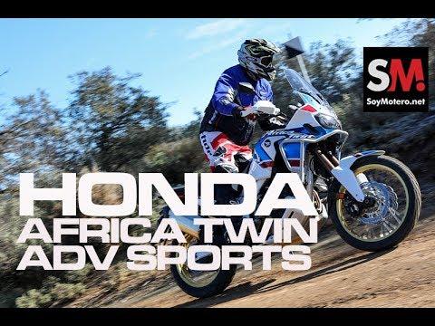 Prueba Honda CRF1000L Africa Twin Adventure Sports 2018: Prueba Moto Maxi Trail [FULLHD]