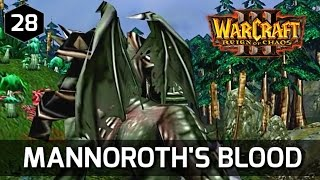 Warcraft 3 Story ► Grom Hellscream Drinks Mannoroth's Blood - Orc Campaign