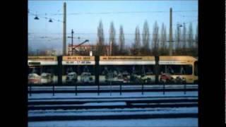 DRESDEN GORBITZ Gleisschleife und STRASSENBAHNHOF im Winter 2010