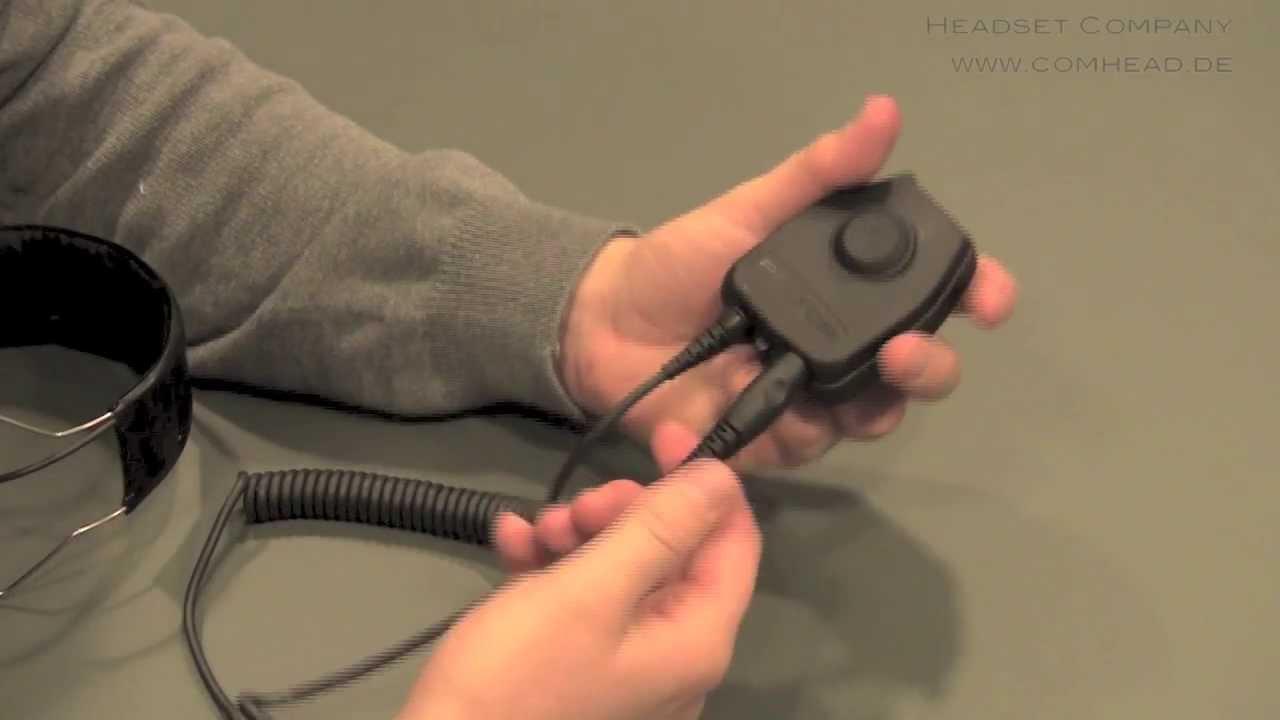 3M Peltor PTT Adapter (Sprechtasten für Headsets)  YouTube