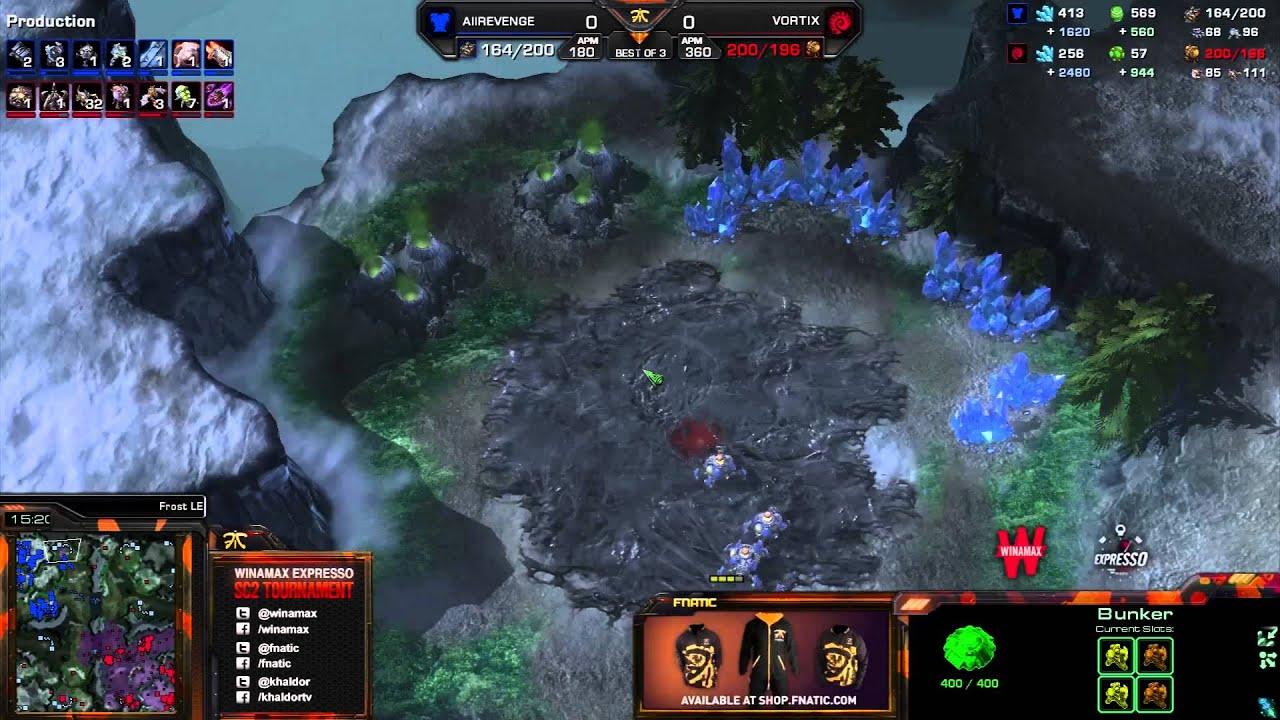 Vortix vs. Revenge - Game 1 - Winamax Finals - StarCraft 2