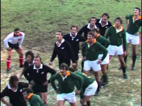 1976 Rugby Union match: South Africa Springboks vs New Zealand All Blacks (3rd Test)
