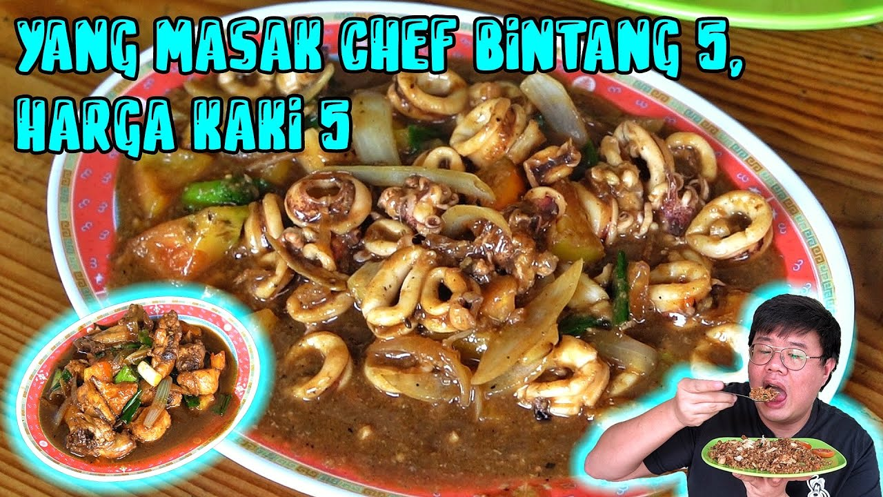 MANTAN CHEF HOTEL AYANA (BALI) JUALAN CHINESE FOOD DI RUMAH NYA...