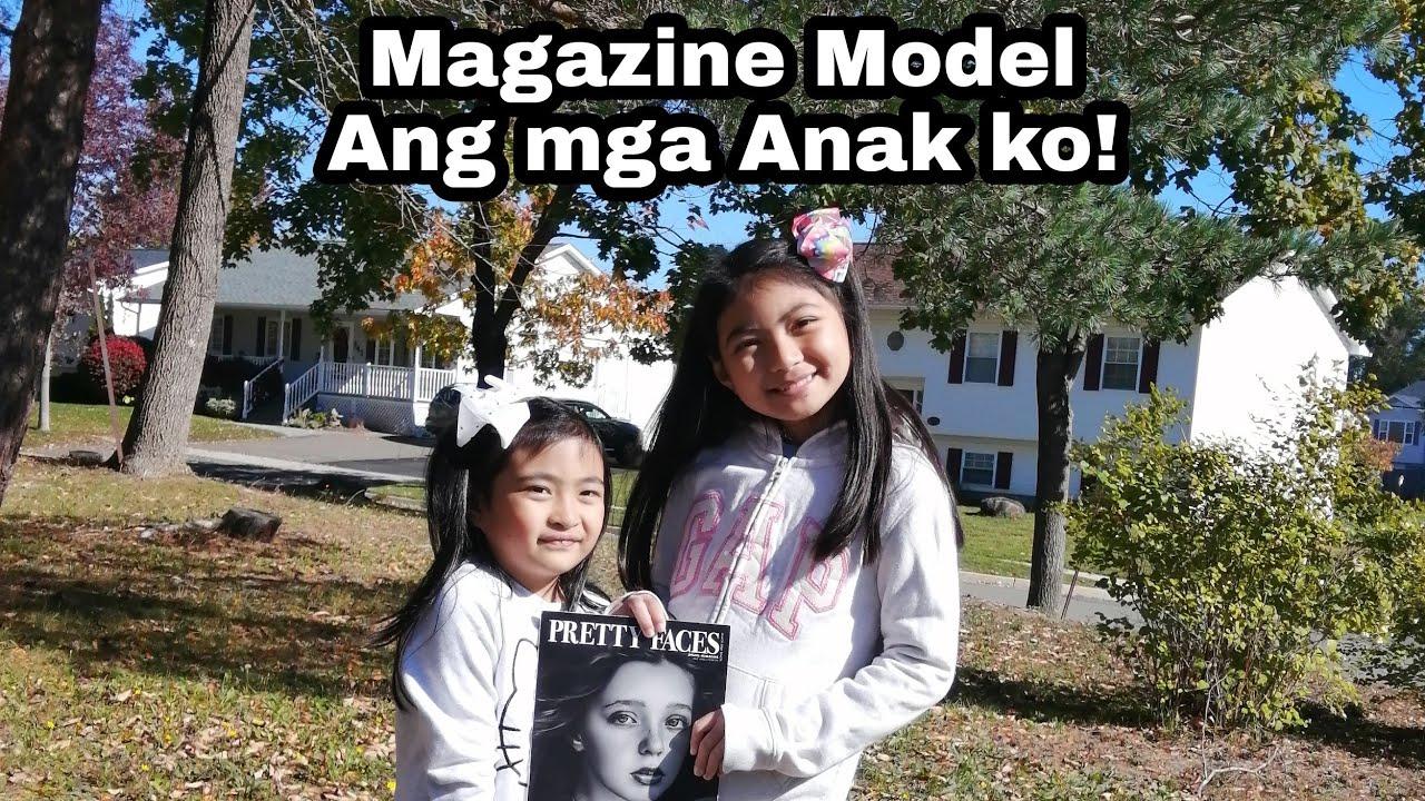 Magazine Model Ang Mga Anak ko...