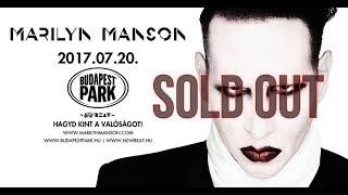 Marilyn Manson Budapest Park Open Air, Hungary FULL
