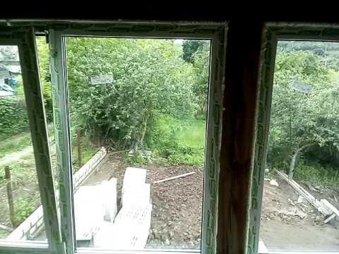 Готовые пластиковые окна на дачу дешево