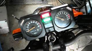 ヤマハ YAMAHA RZ50(5R2) エンジン始動