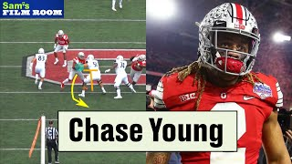 Chase Young and his Deadly Swipe-and-Rip Move | Film Room