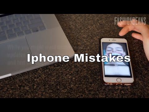 Mistakes You're Making With Your iPhone