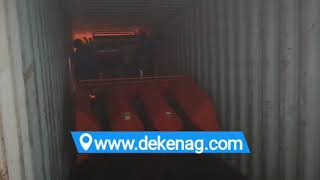 China DEKEN GIMIG corn maize harvester loading container 09
