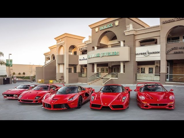 How I built my jewelry empire and purchased my dream car l Ferrari Collector David Lee