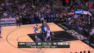 NBA Playoffs 2014 - Dallas Mavericks vs San Antonio Spurs Game 7 Highlights |  5/4/14