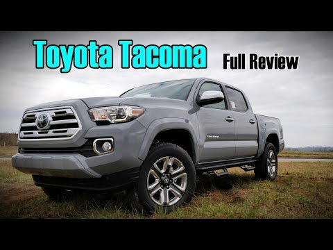 2018 Toyota Tacoma: Full Review | Limited, TRD Sport, TRD Off-Road, SR5 & SR