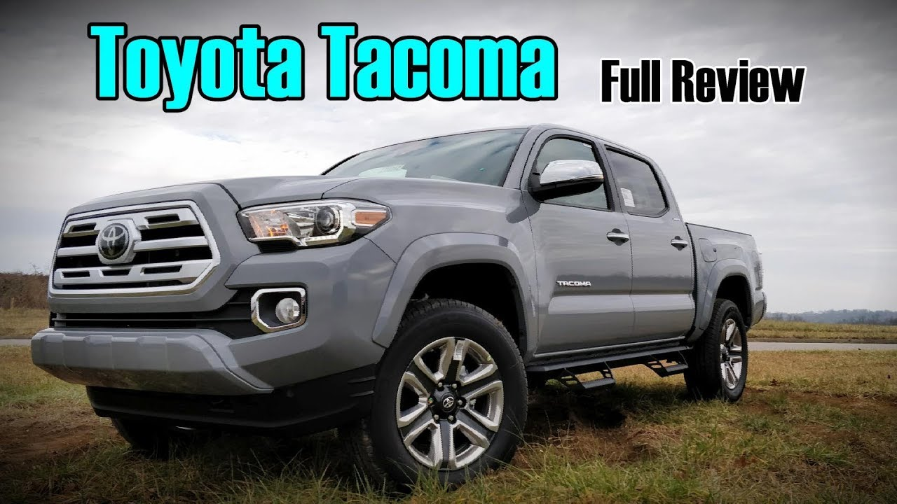 2018 Toyota Tacoma Full Review Limited Trd Sport Trd