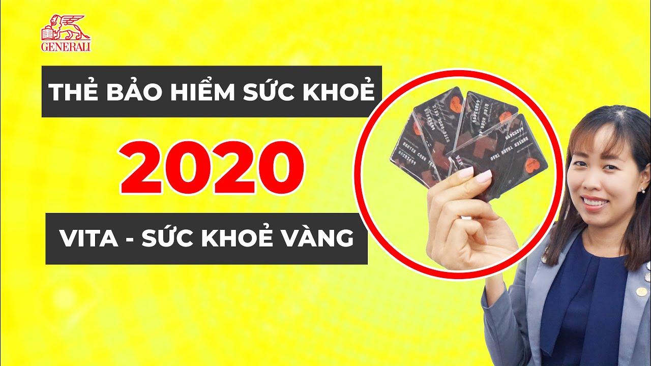Vita Sức Khoẻ Vàng Mới 2020 Là Thẻ Bảo Hiểm Sức Khoẻ Mới Nhất