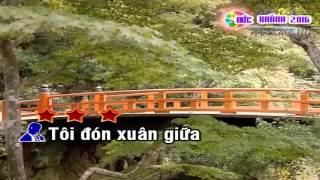 (Karaoke) Tâm sự nàng xuân - Beat tone Nam