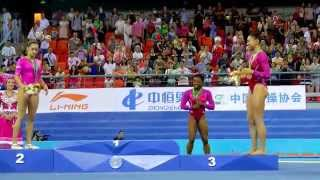 Simone Biles Attacked by bee at World Championships!