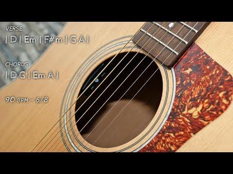 Backing Track Alternative Rock Guitar D Harmonic Minor Jam