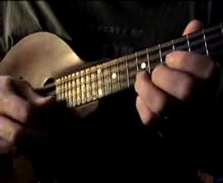 Blues Mandolin Lesson 1 Iv Chord Lick Youtube