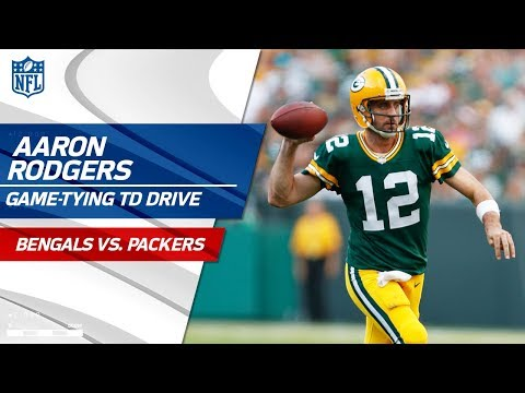 Aaron Rodgers' Clutch Game green bay packers