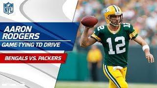 Aaron Rodgers' Clutch Game-Tying TD Drive vs. Cincinnati | Bengals vs. Packers | NFL Wk 3 thumbnail