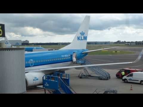 KLM Royal Dutch Airlines + Air France/Manchester-Amsterdam-P
