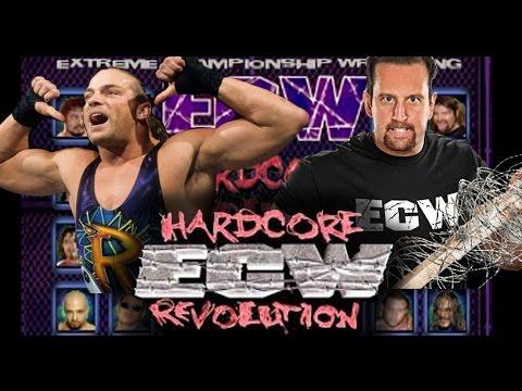 ECW - Extreme Championship Wrestling: Hardcore Revolution (Playstation) PS4 Gameplay