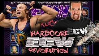 ECW - Extreme Championship Wrestling: Hardcore Revolution (Playstation) PS4 Gameplay