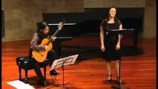 Coco Harris and Ramon Fermin play: Lennox Berkeley - Songs of the Half-Light