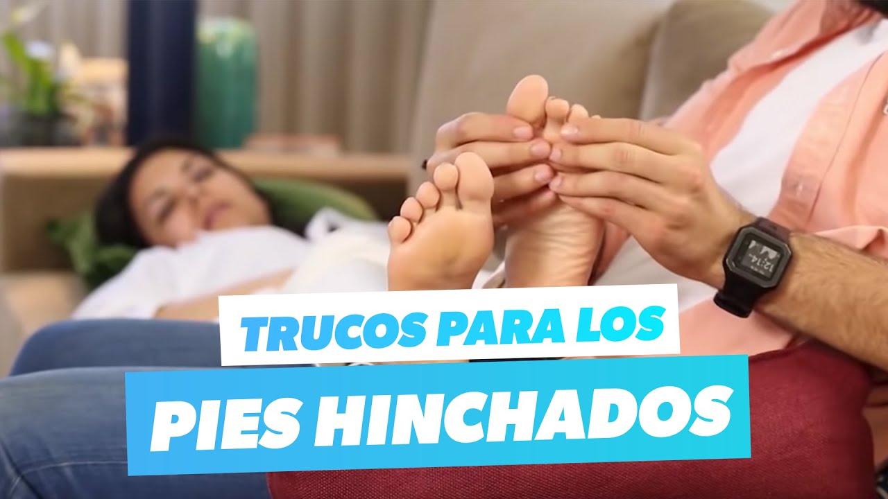 como aliviar la hinchazón de los pies en el embarazo