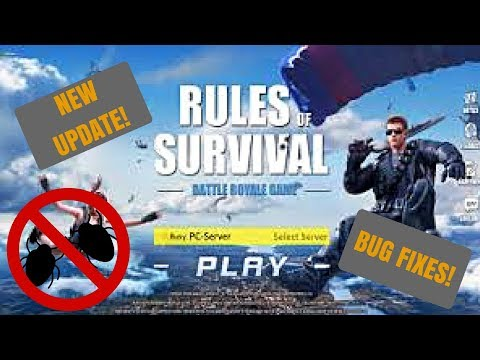 NEW UPDATE - BUG FIXES, AUG MACHINE GUN, 2 CARGO PLANES, & MORE! | RULES OF SURVIVAL